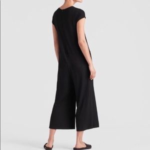 NWT Eileen Fisher Short Sleeve Pocket Jumpsuit